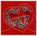 Timbres coeur Givenchy