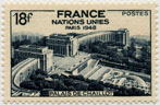 Nations Unies - Palais de Chaillot - Paris 1948